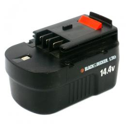 For BLACK&DECKER 14.4V 【A144EX】 リサイクルバッテリー
